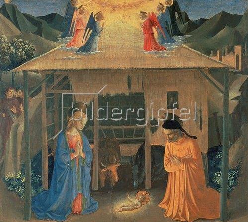 Fra Angelico: Geburt Christi.