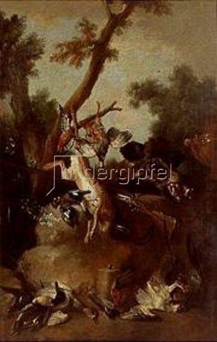 Jean-Baptiste Oudry: Jagdstilleben.