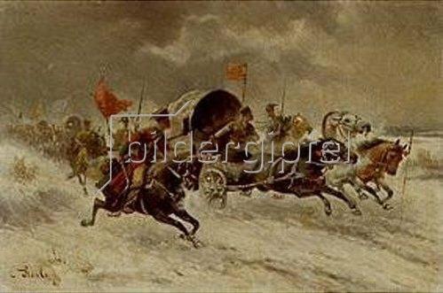 Constantin Stoiloff: Goldtransport in Sibirien.