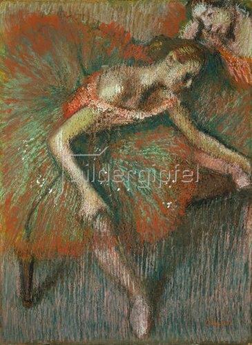 Edgar Degas: Sitzende Tänzerin. Um 1899