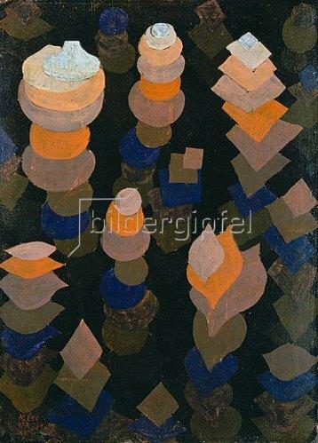 Paul Klee: Wachstum der Nachtpflanzen. 1922