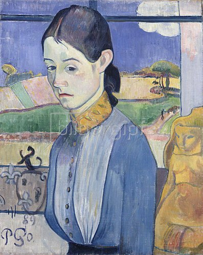 Paul Gauguin: Junge Bretonin. 1889.