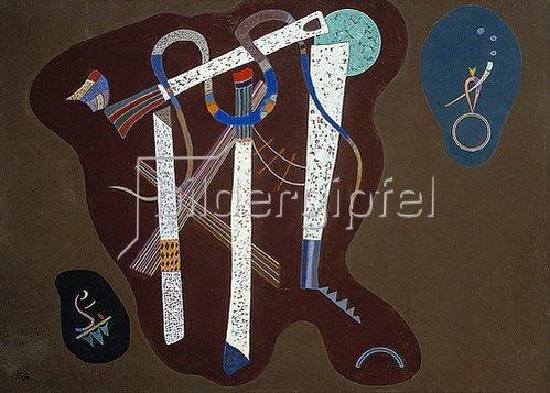 Wassily Kandinsky: Drei Säulen. 1943