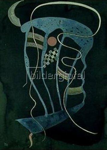 Wassily Kandinsky: Eigensinnige Linie. 1936.
