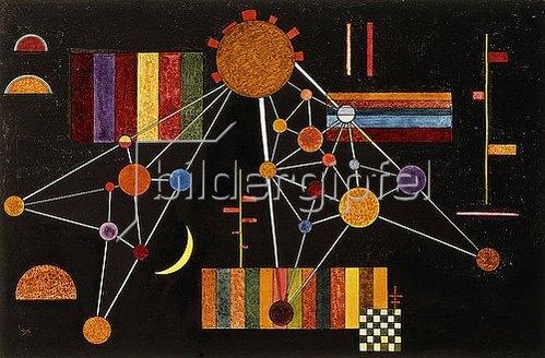 Wassily Kandinsky: Geflecht von oben, N° 231. 1927