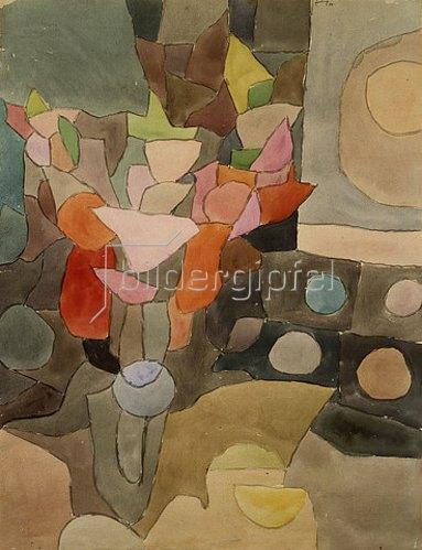 Paul Klee: Gladiolen Stilleben. 1932 V 3.