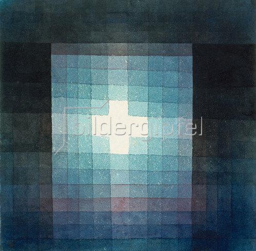Paul Klee: Christliches Grabmal - Kreuzbild. 1923 111.