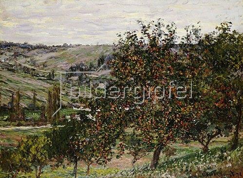 Claude Monet: Apfelbäume bei Vetheuil. 1878