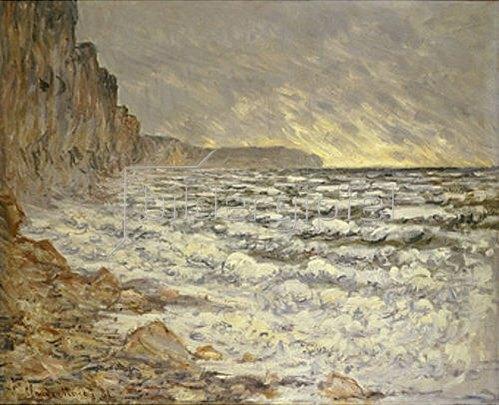 Claude Monet: Fécamp, Küstenlandschaft. 1881
