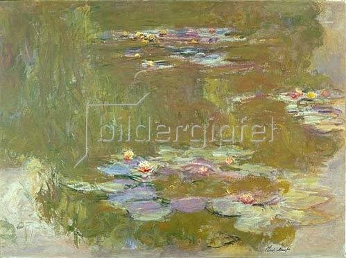 Claude Monet: Nymphéas. 1917