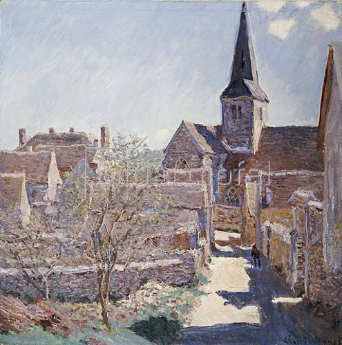 Claude Monet: Bennecourt. 1885