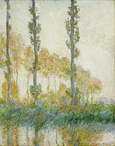 Claude Monet: Pappeln im Herbst. 1891
