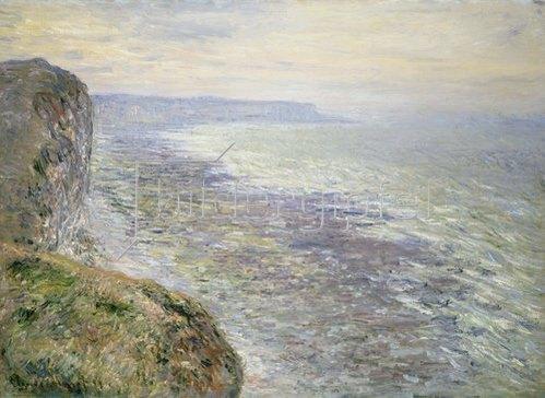 Claude Monet: Das Meer bei Fécamp. 1881