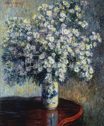 Claude Monet: Der Asternstrauss. 1880