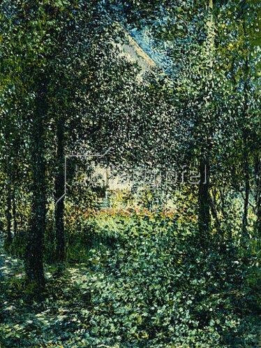 Claude Monet: Gebüsch im Garten von Argenteuil. 1876