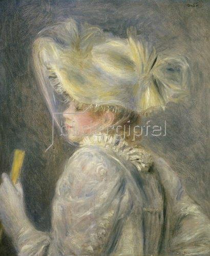 Auguste Renoir: Junge Frau mit weissem Hut.
