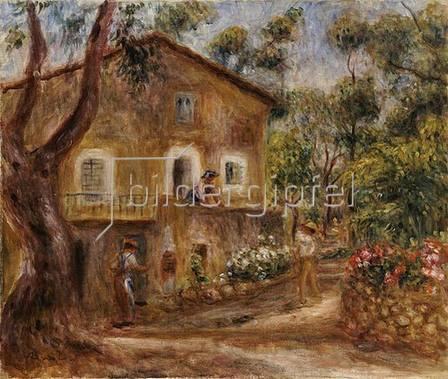 Auguste Renoir: Das Haus von Collette in Cagnes. 1912