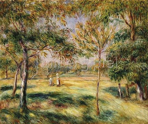 Auguste Renoir: Die Lichtung. 1895