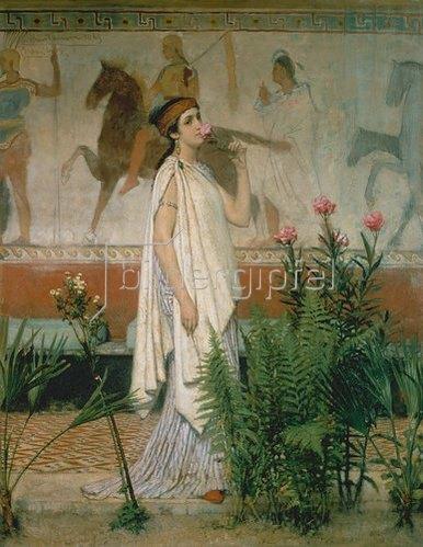 Sir Lawrence Alma-Tadema: Eine Griechin.