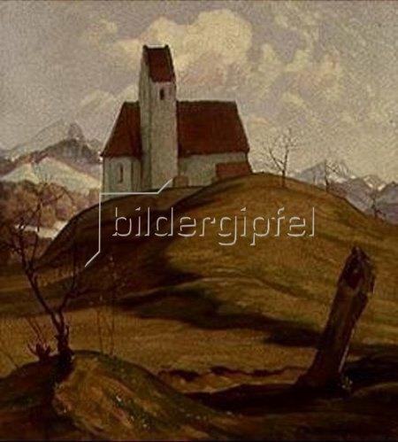 Karl Hermann Müller-Samerberg: Kirche von Grainbach/Samerberg