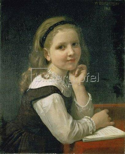 William Adolphe Bouguereau: Ein gutes Buch. 1868.