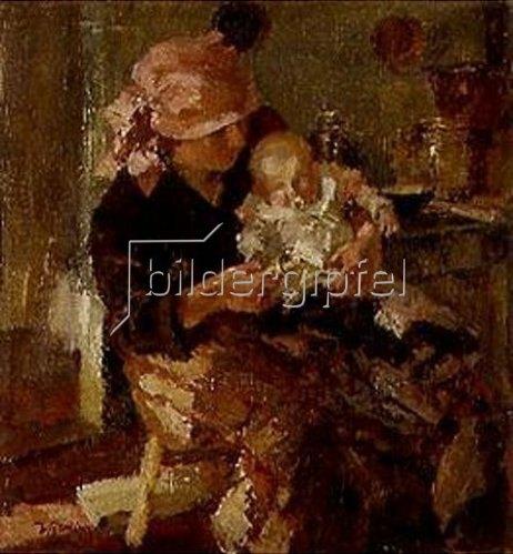 Hermann Groeber: Mutter mit Kind