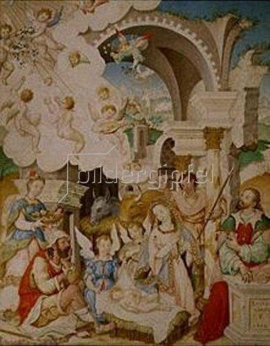 Luis Lagarto: Geburt Christi.