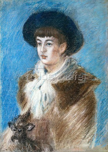 Claude Monet: Suzanne.