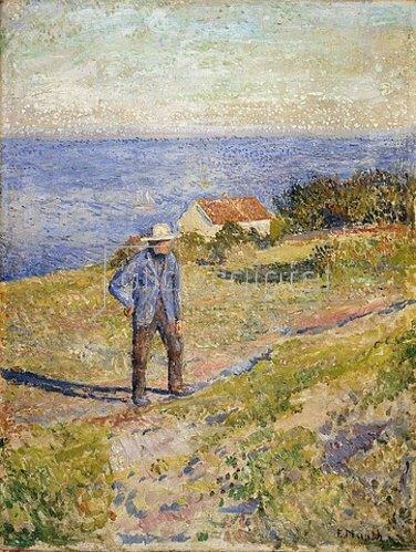 Edvard Munch: Sommer in Asgardstrand. Um 1890-92