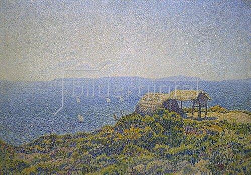 Theo van Rysselberghe: Blick vom Cap Benat, Ile du Levant.