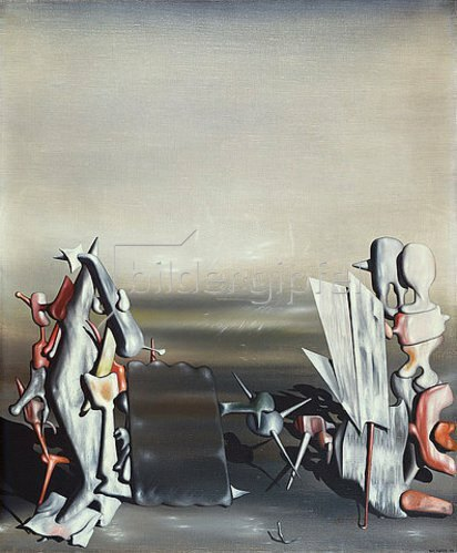 Yves Tanguy: Vers d'ancient appels. 1946
