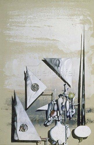 Yves Tanguy: Mit Schwarz. 1951.