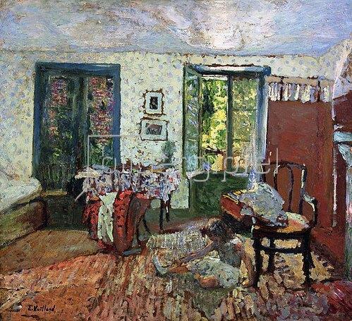 Edouard Vuillard: Annette im Interieur (Annette dans un Interieur). Um 1903