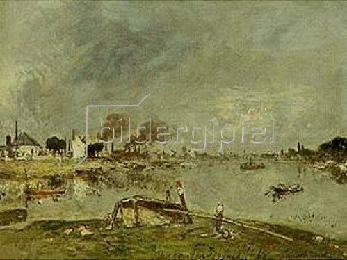 Johan Barthold Jongkind: Die Seine bei Charenton. 1868.