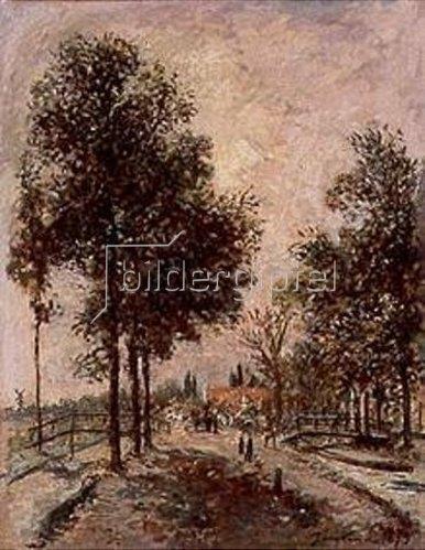Johan Barthold Jongkind: Route de Rotterdam in Gouda. 1873.