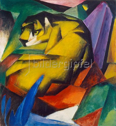 Franz Marc: Der Tiger. 1912