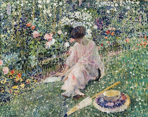 Frederick Karl Frieseke: Garten im Juni. 1911