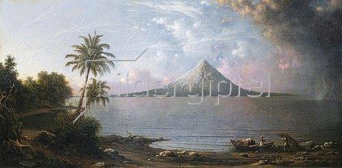 Martin Johnson Heade: Der Vulkan Omotepe in Nicaragua.