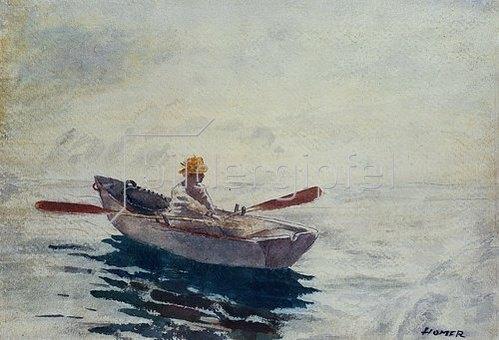 Winslow Homer: Im Ruderboot.