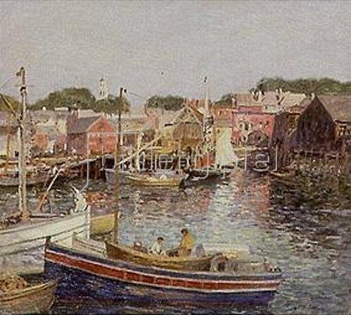 Wilson Henry Irvine: Hafen von Gloucester.