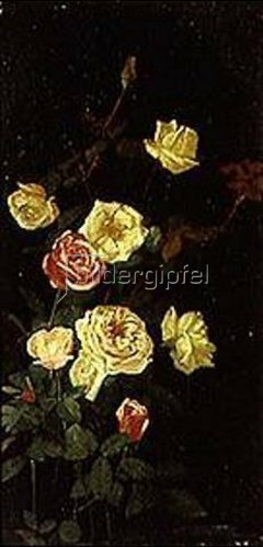 George Cochran Lambdin: Rosen in voller Blüte (I.)