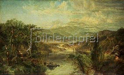 Edmund Darch Lewis: Tropische Landschaft.