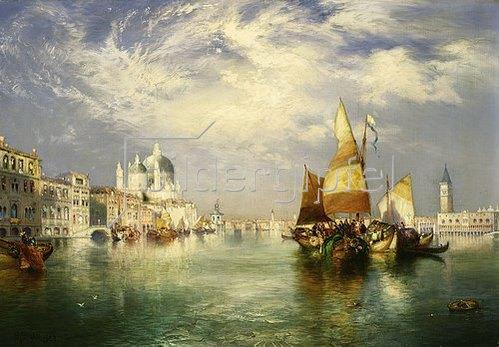 Thomas Moran: Venedig.