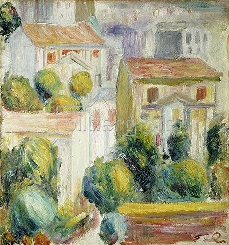 Auguste Renoir: Häuser in Cagnes.