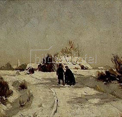 Otto Modersohn: Neujahrstag. 1888