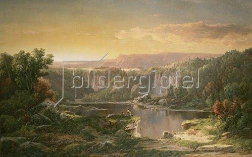 William Louis Sonntag: Bergsee bei Piedmont (Maryland/USA).