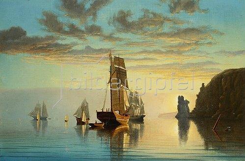 William Partridge Burpee: Abends bei Windstille.