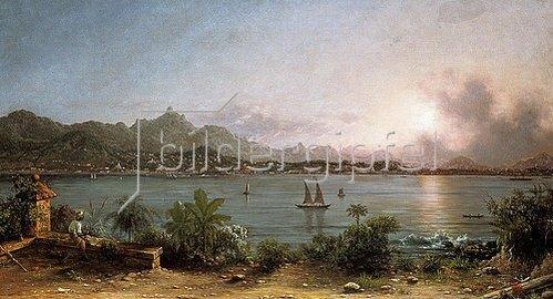 Martin Johnson Heade: Blick auf Rio de Janeiro. 1864.