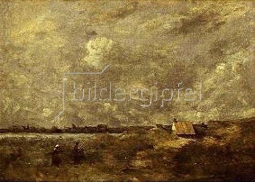 Jean-Baptiste Camille Corot: Unter wolkenverhangenem Himmel.