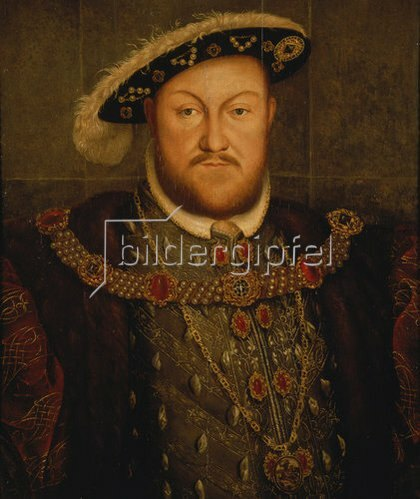 Hans Holbein d.J.: König Heinrich VIII. von England.